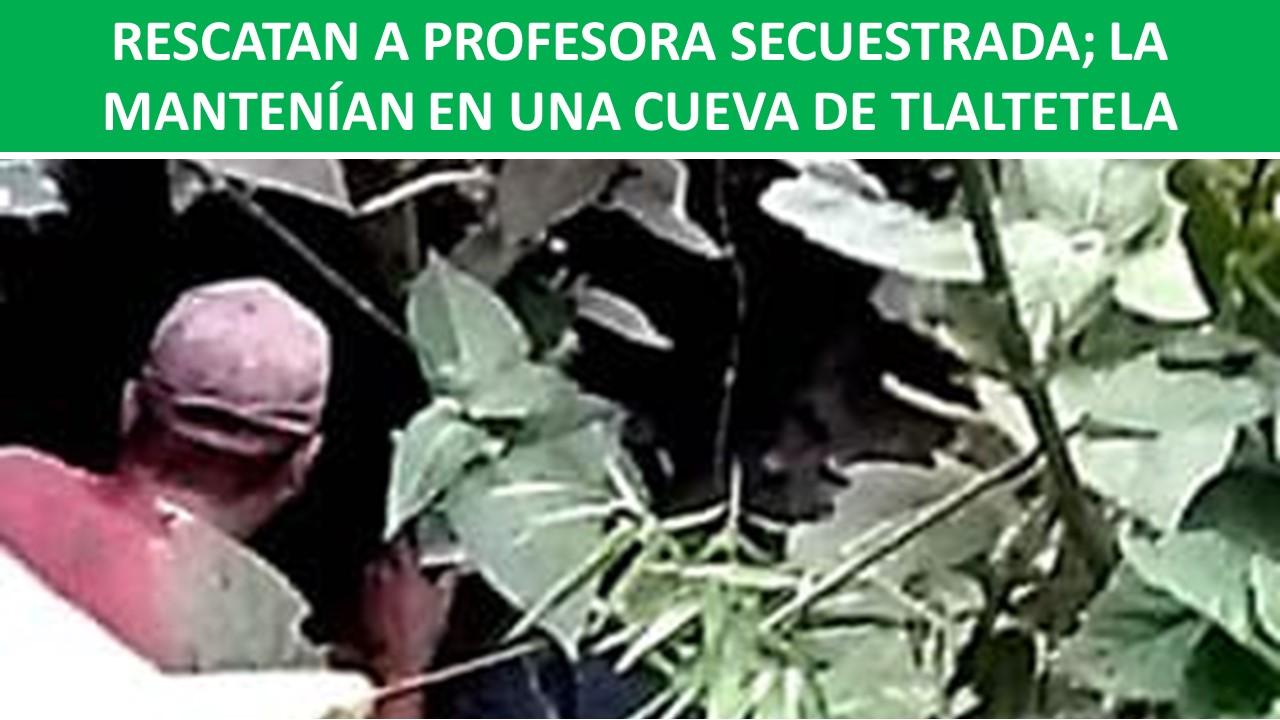 PROFESORA SECUESTRADA
