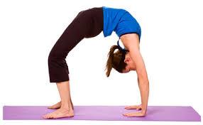 pose yoga kayang