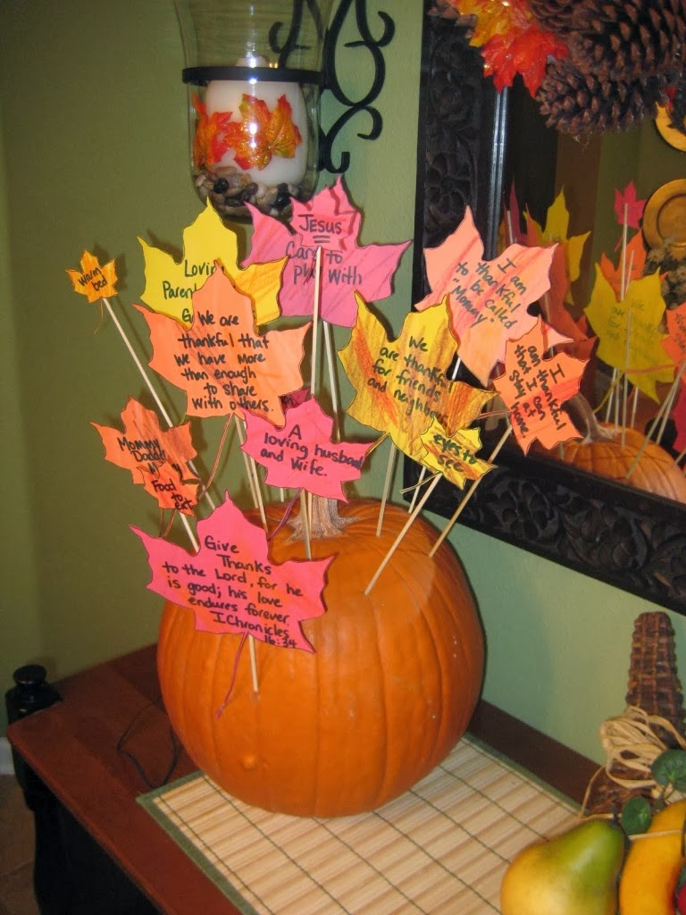 Thankful pumpkin mumudesign - Thanksgiving decorations ...