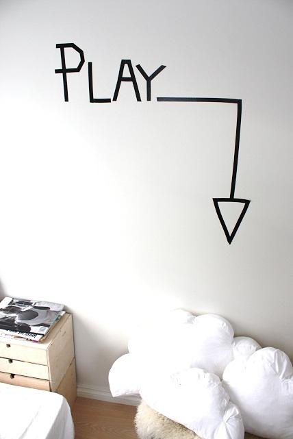 decorar un cuarto de juegos