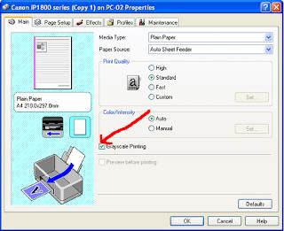 Print PDF Hitam-Putih