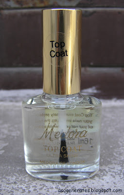 Medora Nail Polish Clear top coat