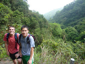 Elder Ng and Elder Wright Hiking