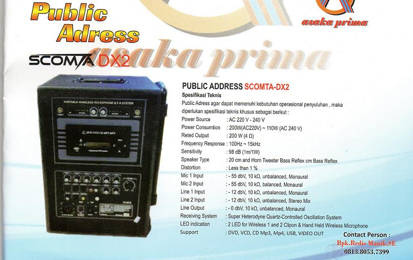 www.publicaddress.com,PUBLIC-ADDRESS,distributor public address, pengadaan public address dakbkkbn 2013, public address, public-address dakbkkn, sarana public address,PUBLIC ADDRESS BKKBN,DAK BKKBN 2013,SCOMTA DX2,