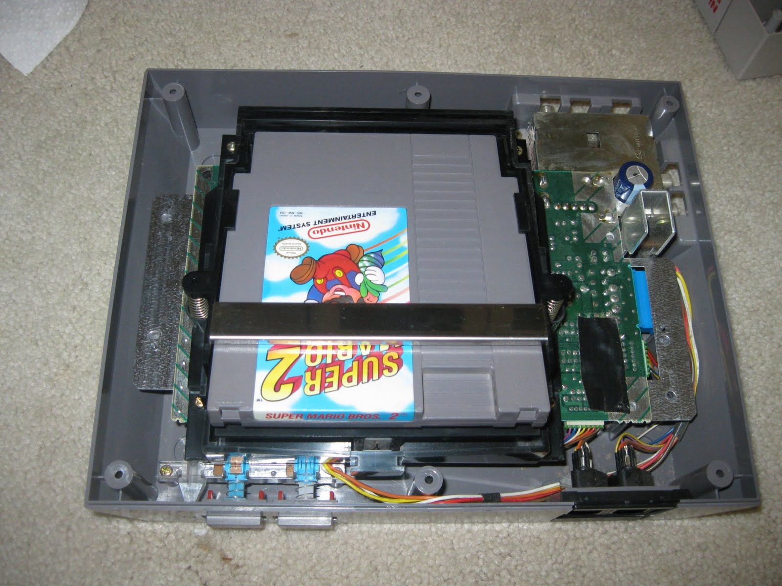Fami Complex How To Repair A Nintendo Nes Or Dont Buy 72 Pin You Have Clean And Sand The Top Bottom Of Circuitboard Connector