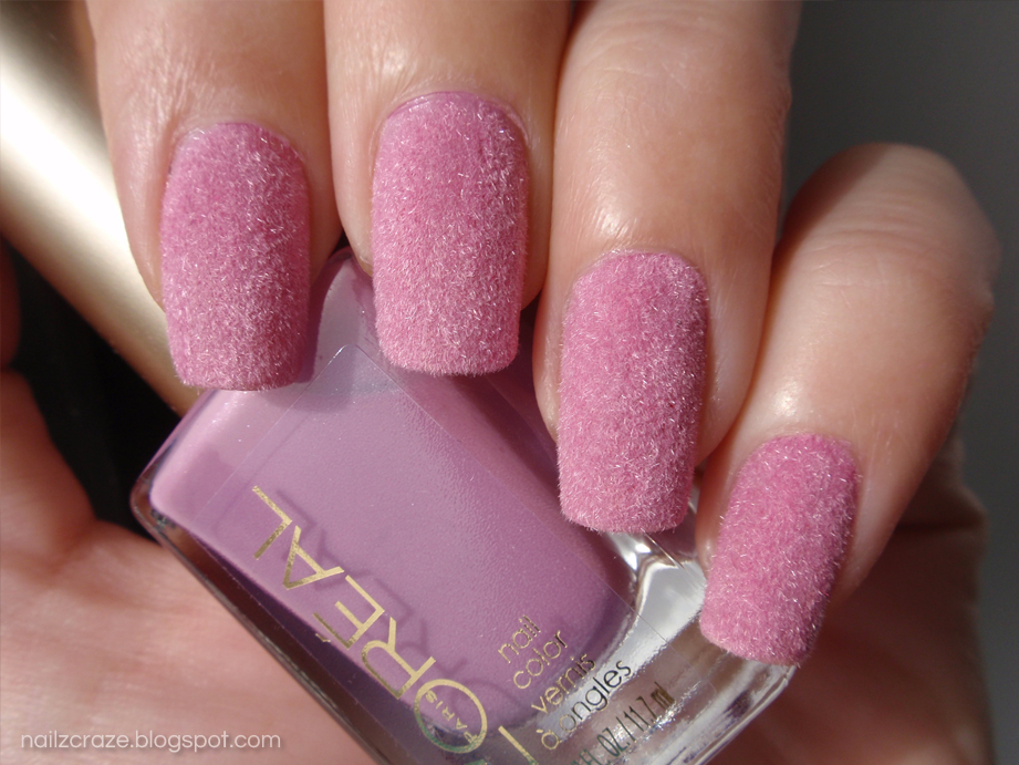 Flocking Powder Nail Design | Nails Gallery