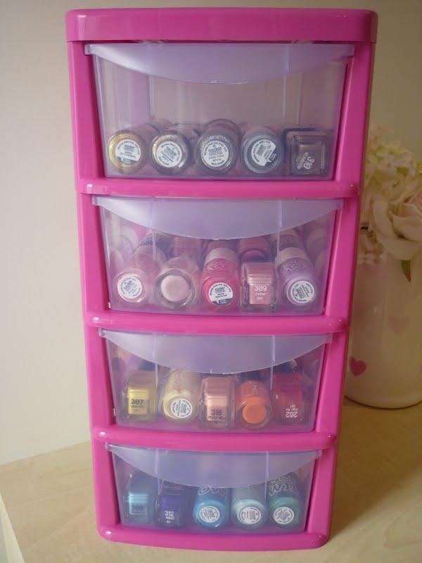 Thenailgeek Nail Polish Storage Ideas