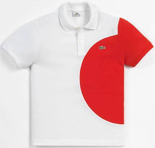 polo bandera de Japón