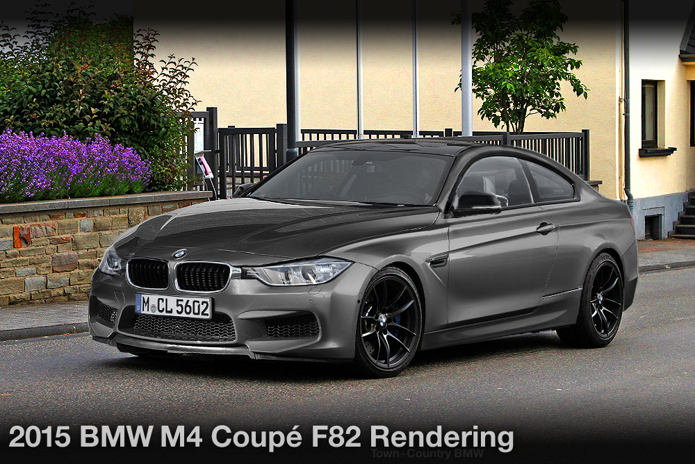 2015 BMW M4 Coupe Rendering (Gallery)