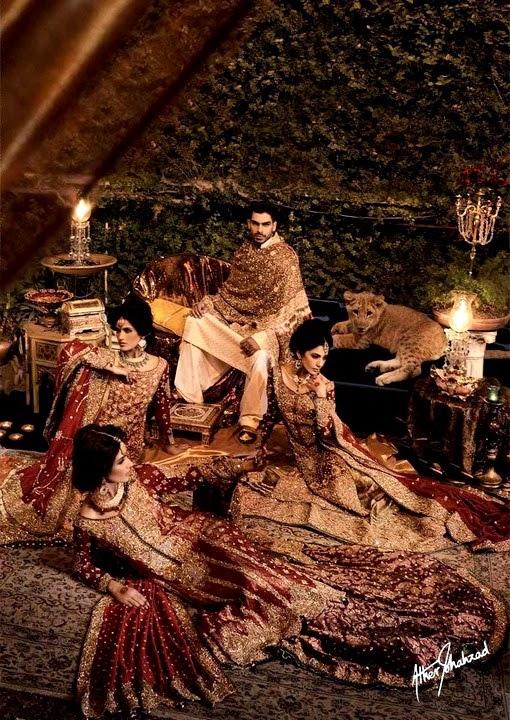 HUMZA RASOOL Bridal Couture 2014