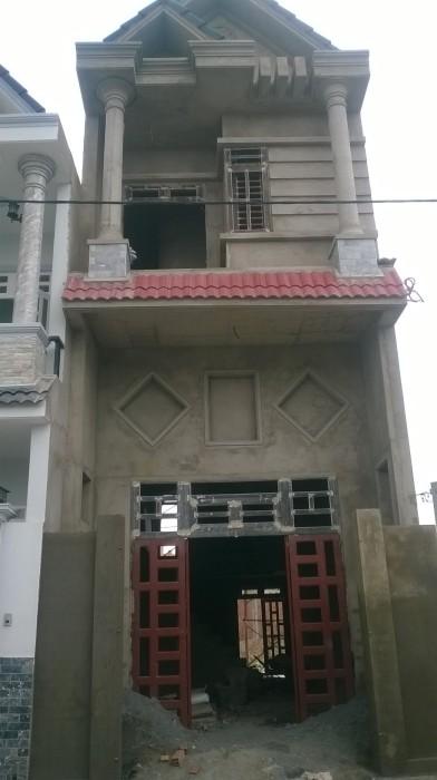 Bán nhà 2 mặt tiền kinh doanh buôn bán đẹp – Nhà 1 lầu 1 lửng 1 trệt gần chợ Dĩ An 1
