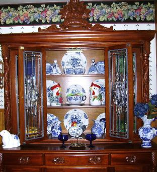 My Craigslist China Cabinet