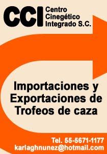 Importaciones y Exportaciones de Trofeos de caza