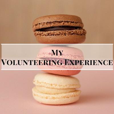 my volunteering experience