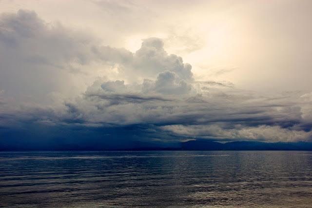 Moalboal Philippines ocean view