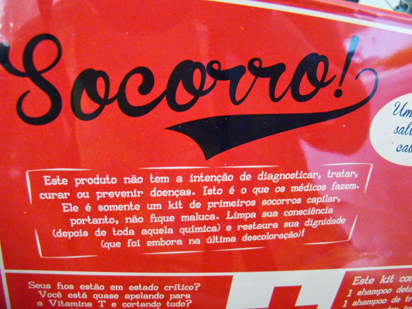 Kit Socorro de Cronograma Capilar Lola Cosmetics