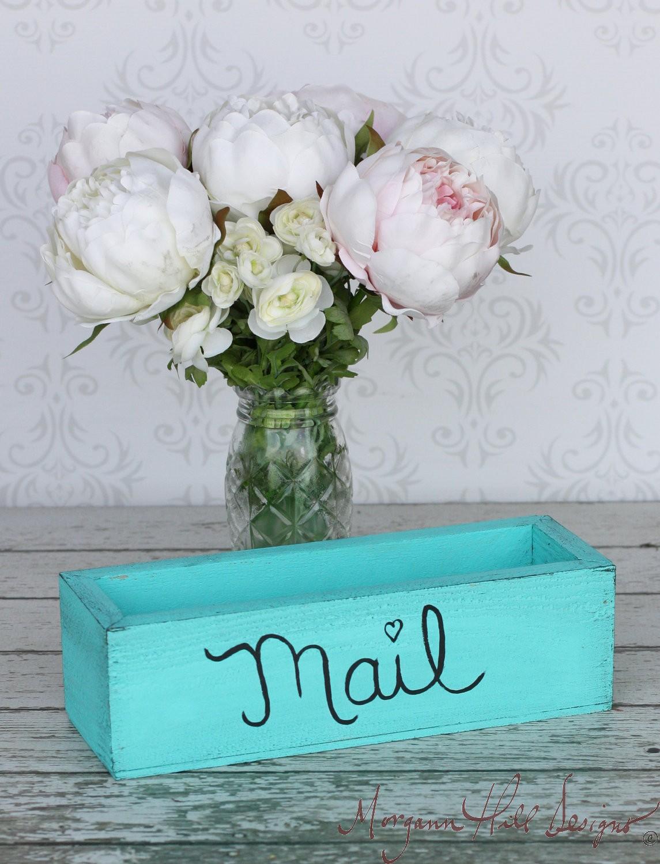 Morgann Hill Designs Rustic Home Decor Mail Organizer
