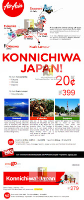 AirAsia Konnichiwa Japan Sale
