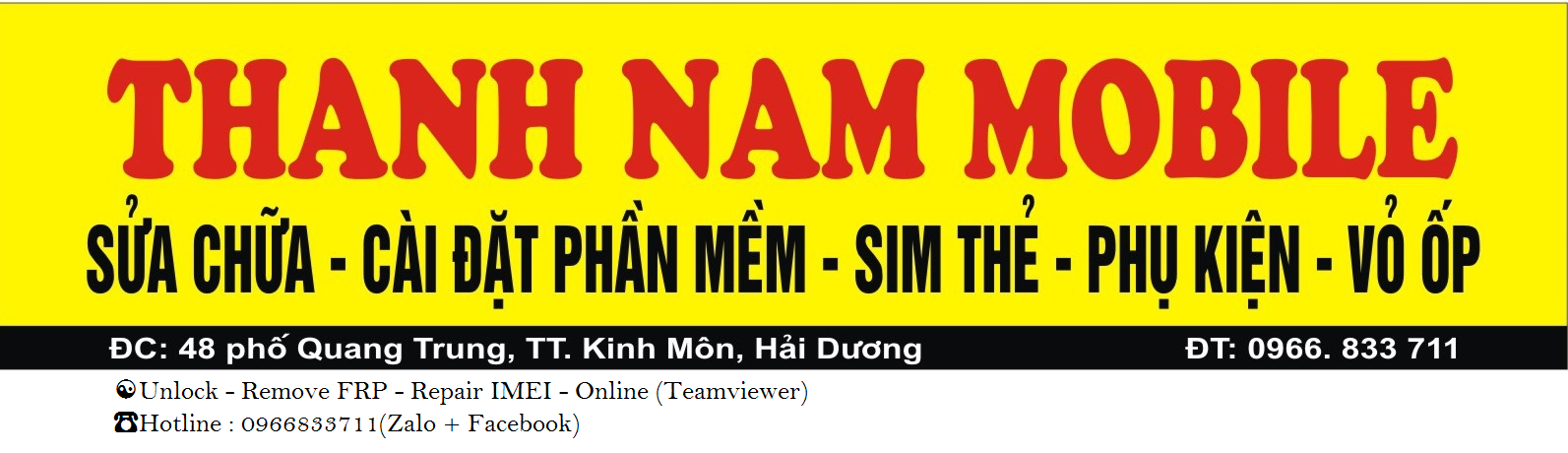 Thanh Nam Mobile