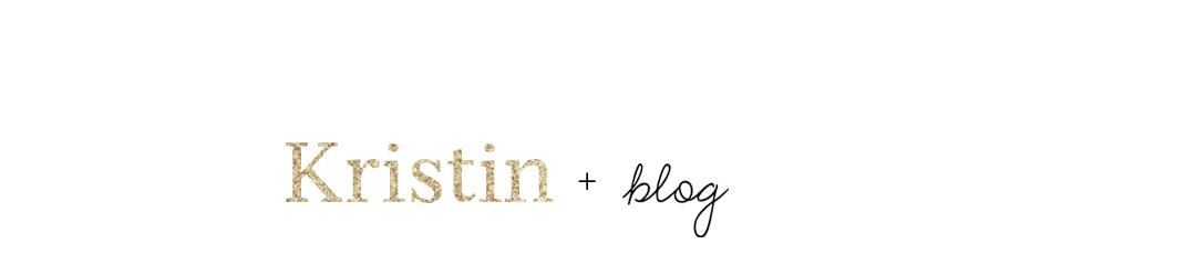 Kristin by blog