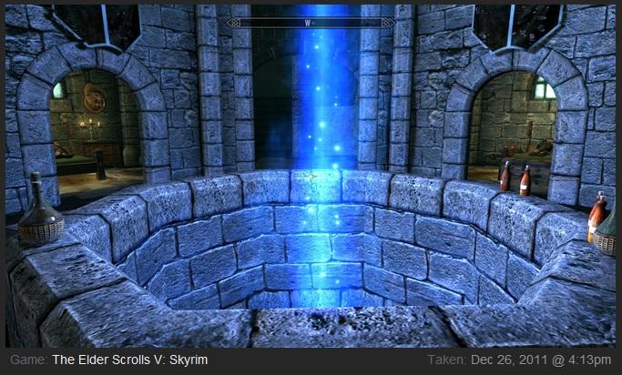 Enter Skyrim