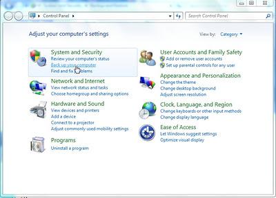 Tips Cara Backup Data Windows 7