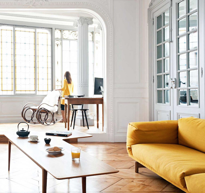 INTERIORS: French apartment in Bordeaux