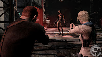 Jake Muller and Sherry Birkin Resident Evil 6
