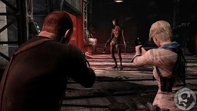 Jake Muller and Sherry Birkin Resident Evil 6