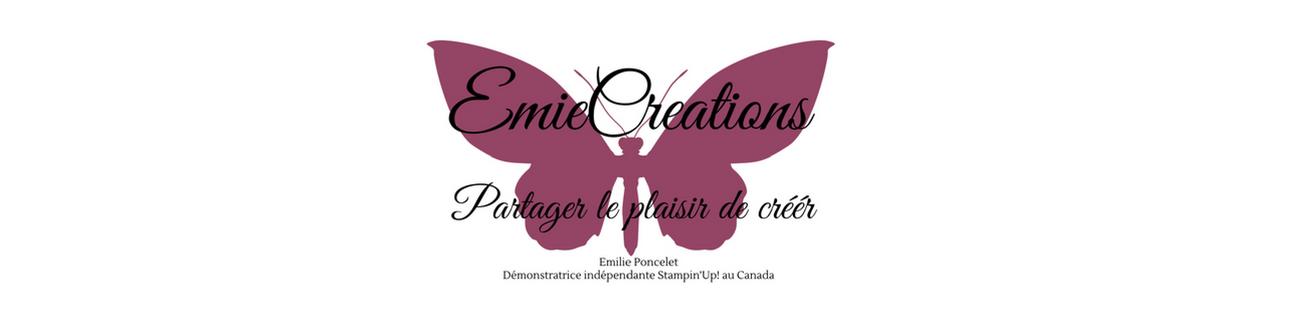 Emilie Poncelet, Démonstratrice Indépendante Stampin'Up! Canada