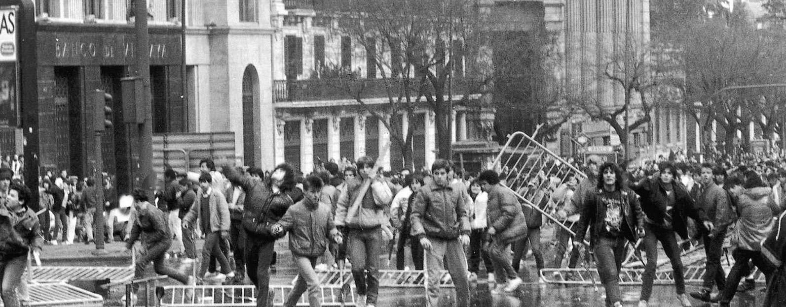 Resultat d'imatges de huelga estudiantil 1987