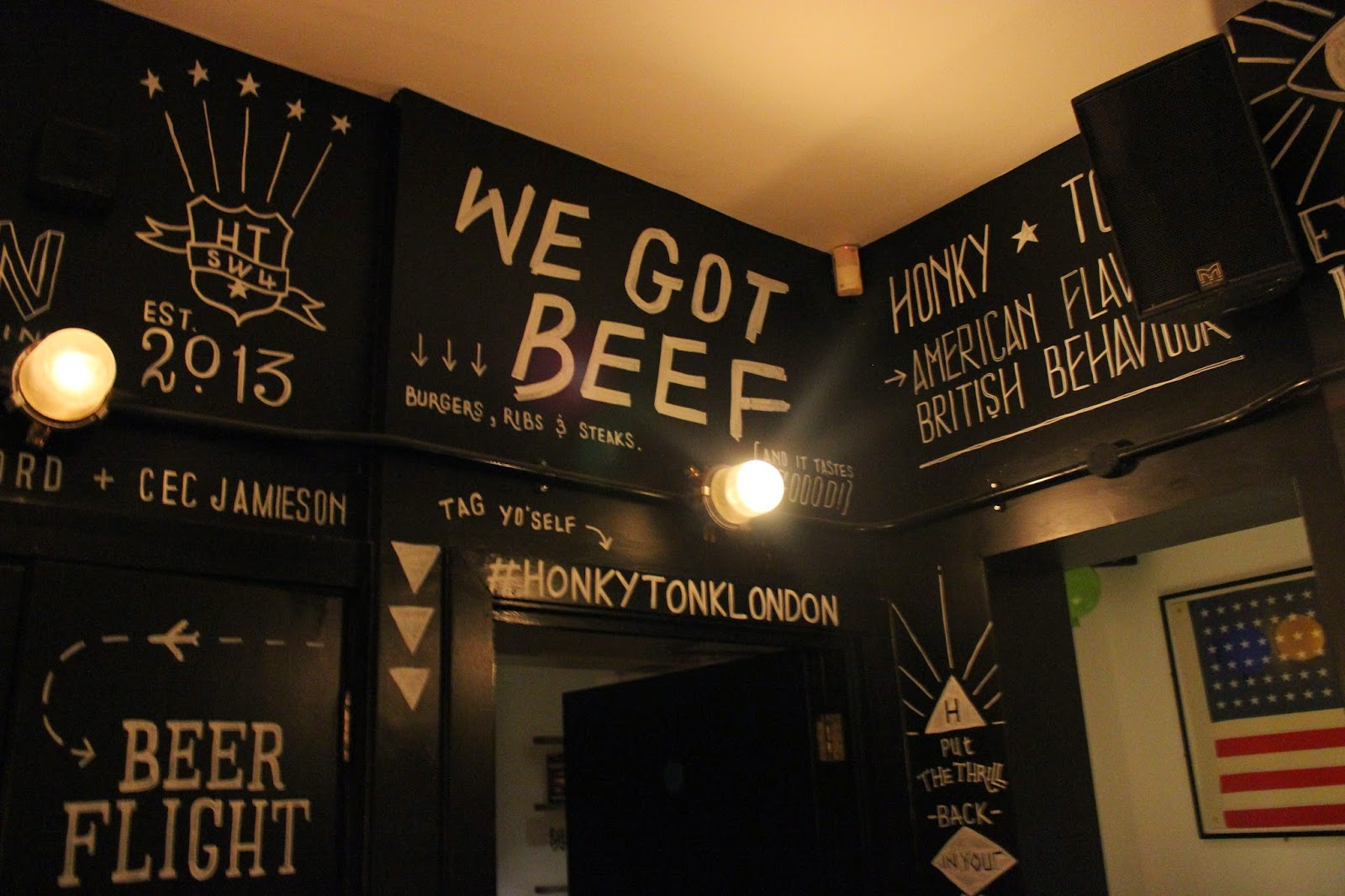 Honky Tonk, Clapham, London, That Guy Luke, Blog, South London, London Restaurants, London Burger Places, Eating and Drinking, Narnia, Date, Dinner Date, Chelsea