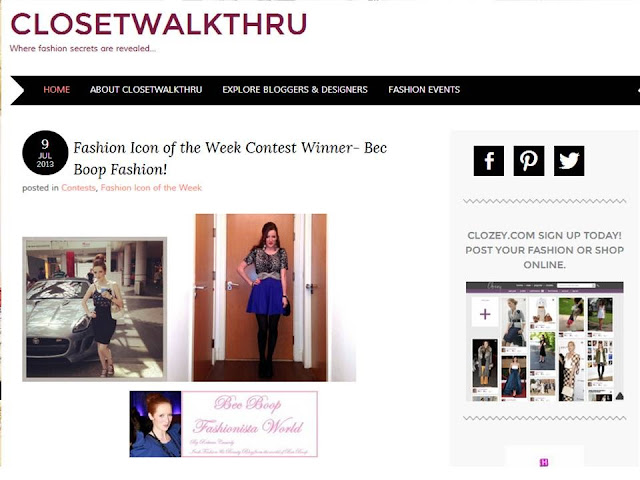 Fashion Icon of the Week Contest Winner