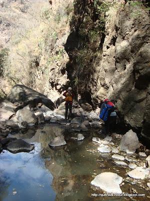 En el cañón de Matatlán