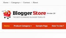 Template Blog Toko Online
