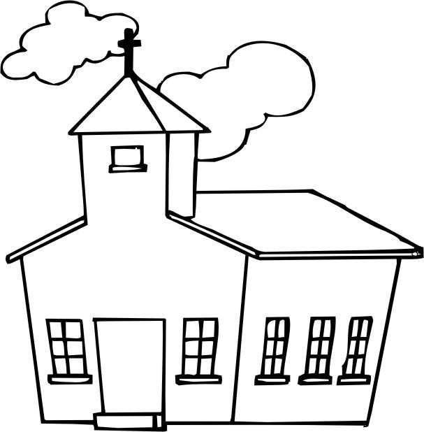 Dibujo para colorear de un templo - Imagui