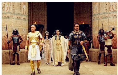 Sinopsis Film Exodus: God and Kings 2014 ( Aaron Paul, Christian Bale)