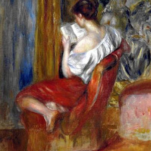 "Auguste Renoir, ""a leitura"""