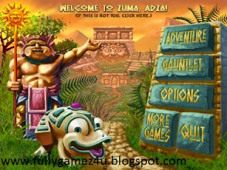 Download Free Zuma Deluxe Game Full Version