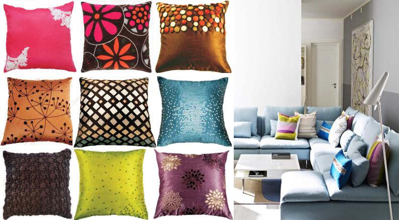 Cojines decoraci n de casa salas y rec maras dise o y decoraci n de interiores - Diseno de cojines para sala ...