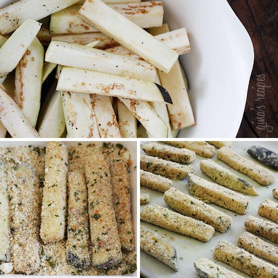 Eggplant Parmesan Sticks Recipes — Dishmaps