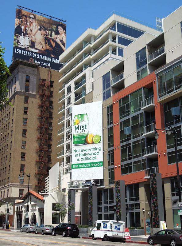 Sierra Mist Hollywood billboard