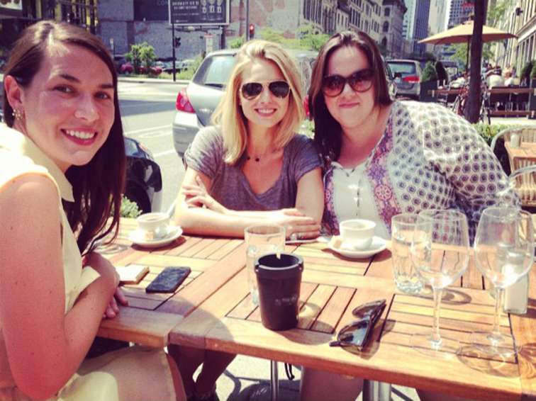 Friends Summer Ladies who Lunch Montreal Vacation