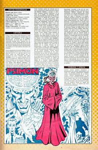 Ficha DC Comics Psimon