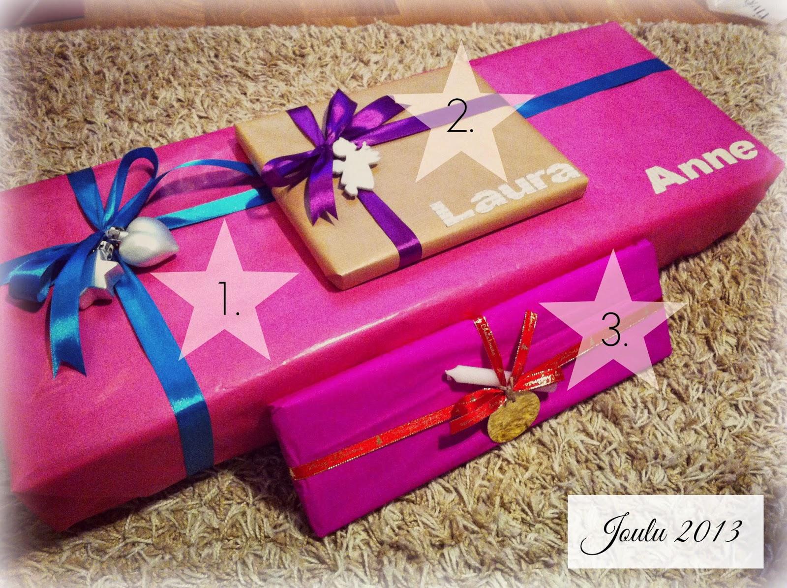 Kaikki Paketissa joululahjojen paketointi