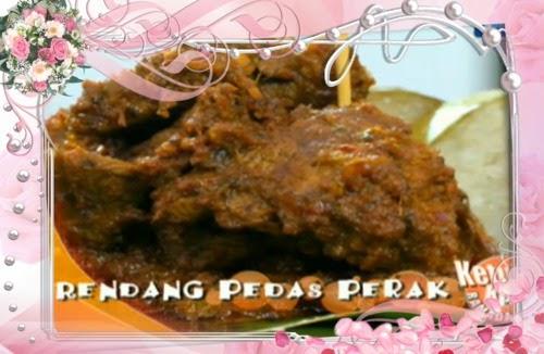 Ketuk-ketuk Ramadan bersama Ramona Zam Zam, Tesco Stesen 18 Pengkalan Ipoh, Ikan Salmon Asam Pedas, Rendang Pedas Perak