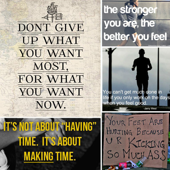 Workout Words: Your Health Kick: 20 Motivational Wallpapers