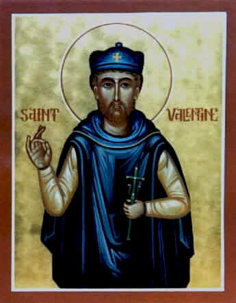 WHO was St. Valentine?