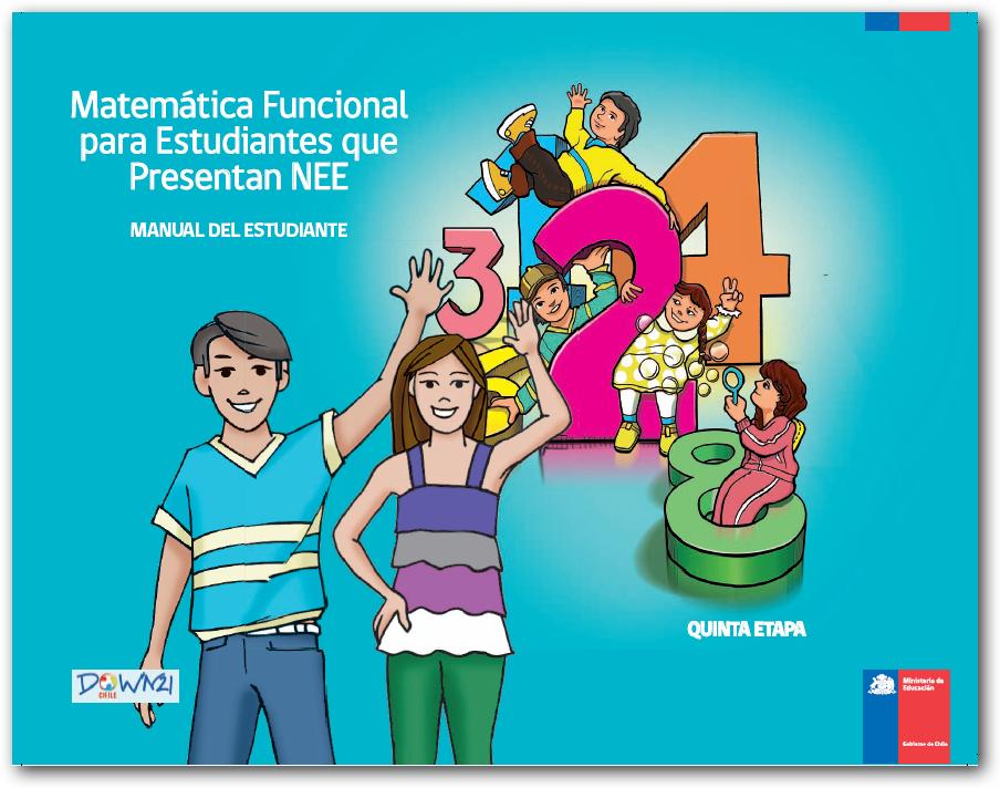 Manual del estudiante de 5 - Matemática Funcional para estudiantes que presentan NEE
