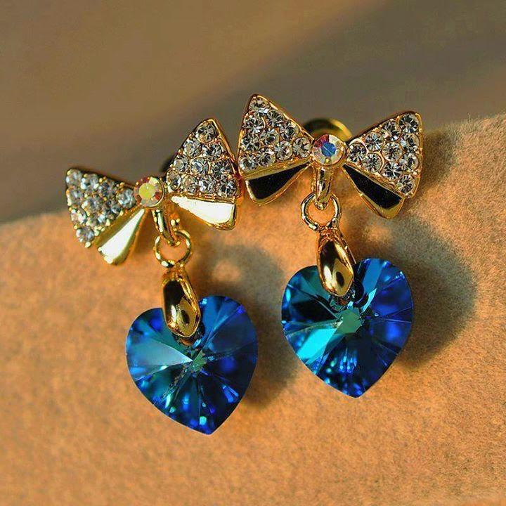 Four Elegant Earrings Designs